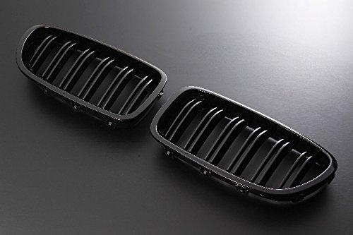 Import(インポート) キドニーグリル BMW 5シリーズ F10 M5ルック 09-UP グロスブラック
