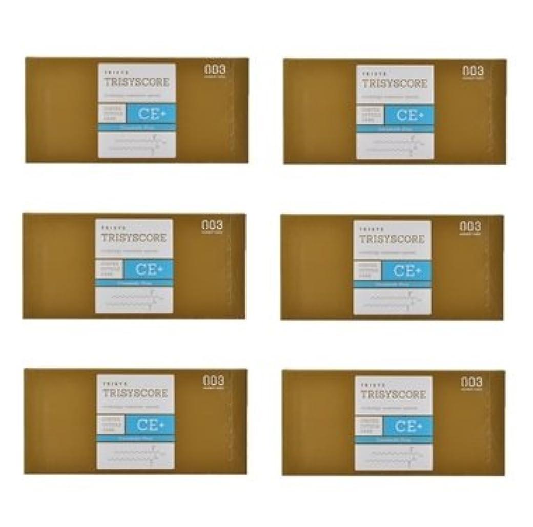 スクラップアルバムに対応【X6個セット】ナンバースリー トリシスコア CEプラス (ヘアトリートメント) 12g × 4包入り