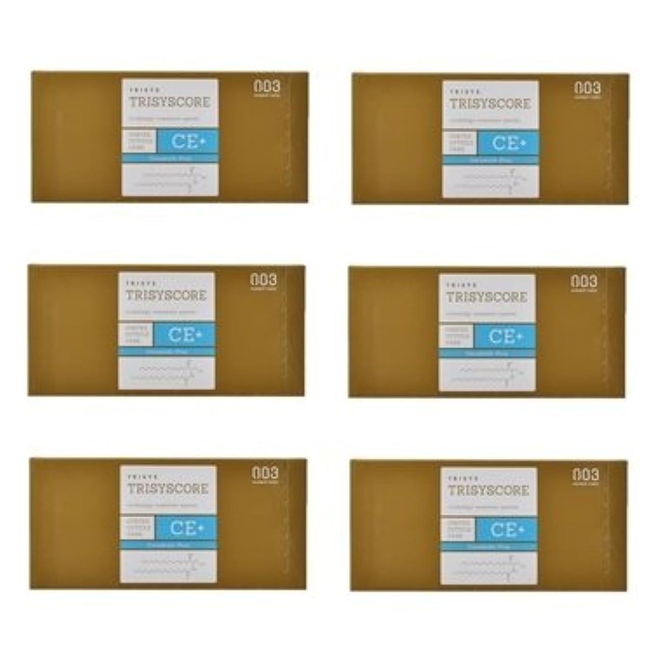 かんたん調べるボイコット【X6個セット】ナンバースリー トリシスコア CEプラス (ヘアトリートメント) 12g × 4包入り