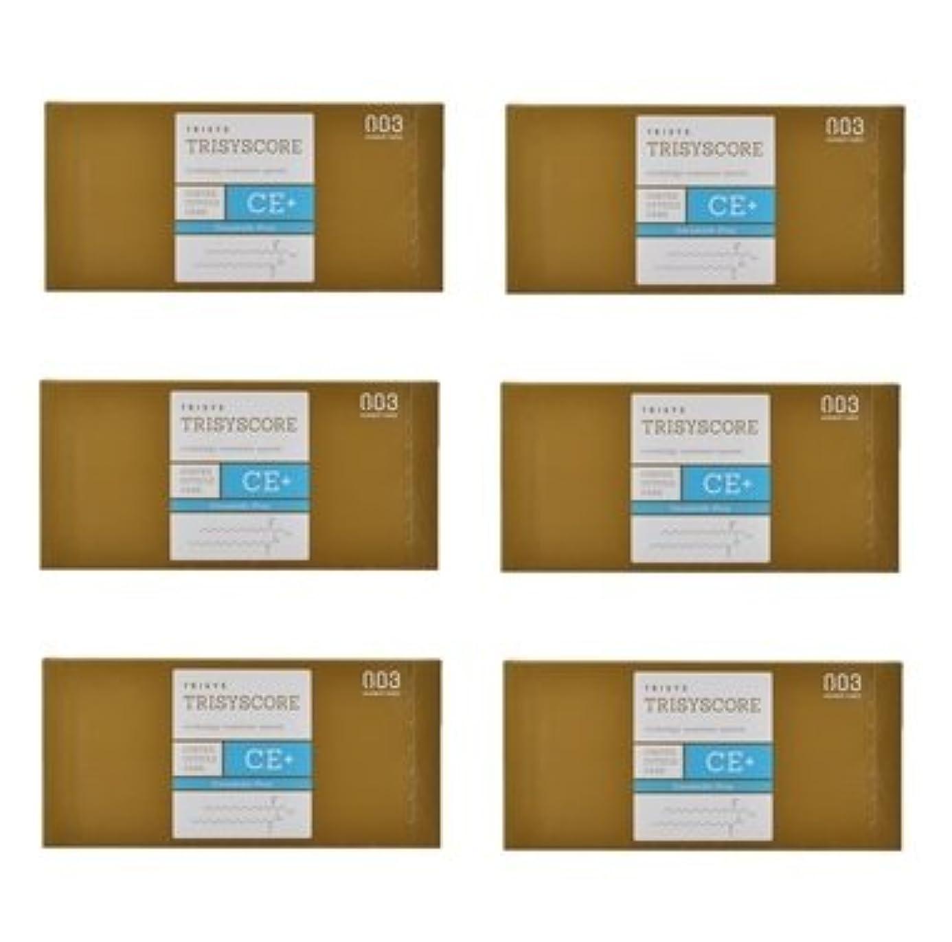 周りシンジケート【X6個セット】ナンバースリー トリシスコア CEプラス (ヘアトリートメント) 12g × 4包入り