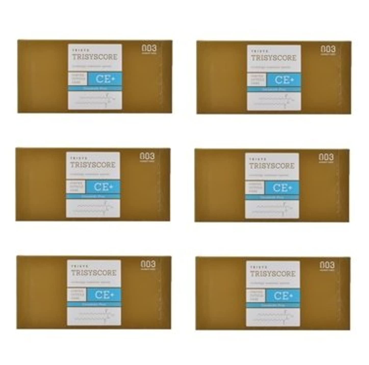 細部スキャンダル連合【X6個セット】ナンバースリー トリシスコア CEプラス (ヘアトリートメント) 12g × 4包入り