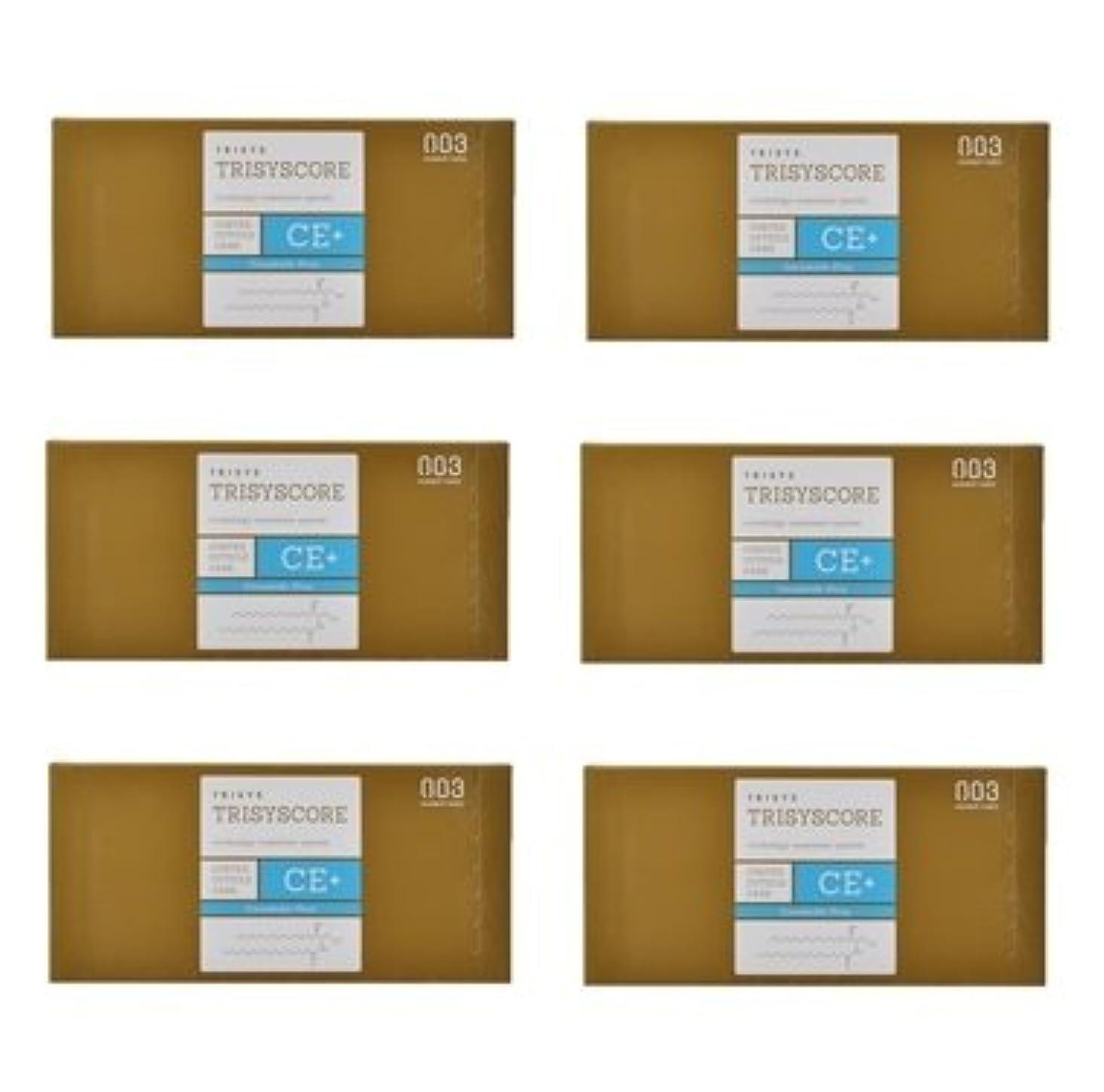 赤道症状原始的な【X6個セット】ナンバースリー トリシスコア CEプラス (ヘアトリートメント) 12g × 4包入り