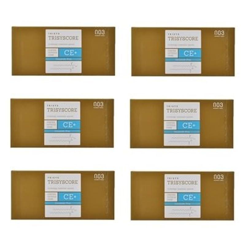 頼るクーポン安西【X6個セット】ナンバースリー トリシスコア CEプラス (ヘアトリートメント) 12g × 4包入り