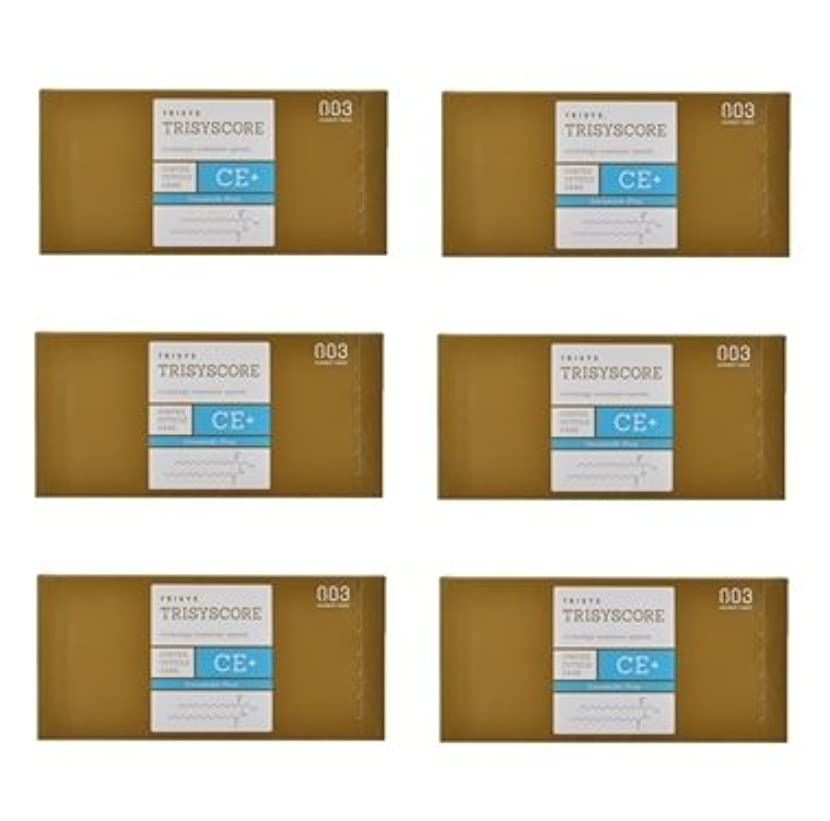 回転する溶接癒す【X6個セット】ナンバースリー トリシスコア CEプラス (ヘアトリートメント) 12g × 4包入り
