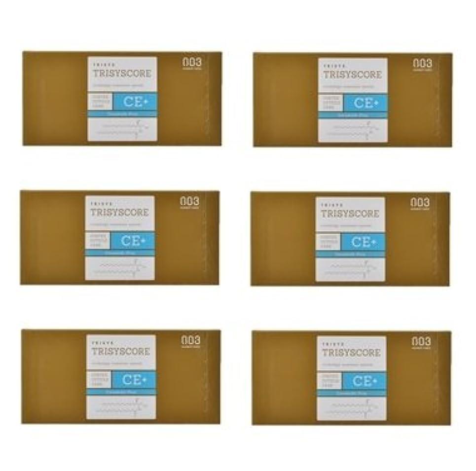 フェデレーション承知しましたインテリア【X6個セット】ナンバースリー トリシスコア CEプラス (ヘアトリートメント) 12g × 4包入り