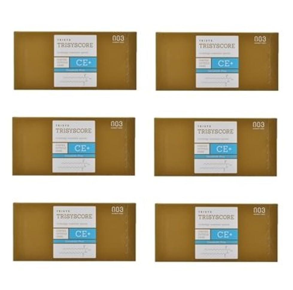 許さない仕える郡【X6個セット】ナンバースリー トリシスコア CEプラス (ヘアトリートメント) 12g × 4包入り