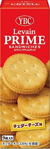 ヤマザキビスケット ルヴァンプライムサンド チェダーチーズ味 ハンディパック 9枚×10箱