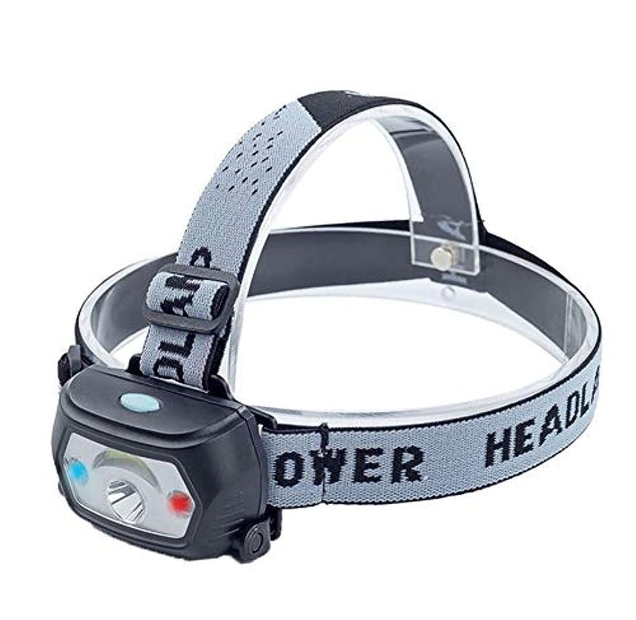 是正電卓長方形ヘッドライト,多機能屋外防水充電式ロングショットフィッシングヘッドライト