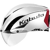 OGK KABUTO(オージーケーカブト) ヘルメット ヘルメット AERO-R1 パールホワイトレッド-3