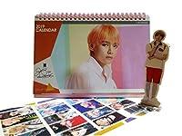 BTS 卓上カレンダー ミニスタンディングフィギュア + 特殊両面フォトカード