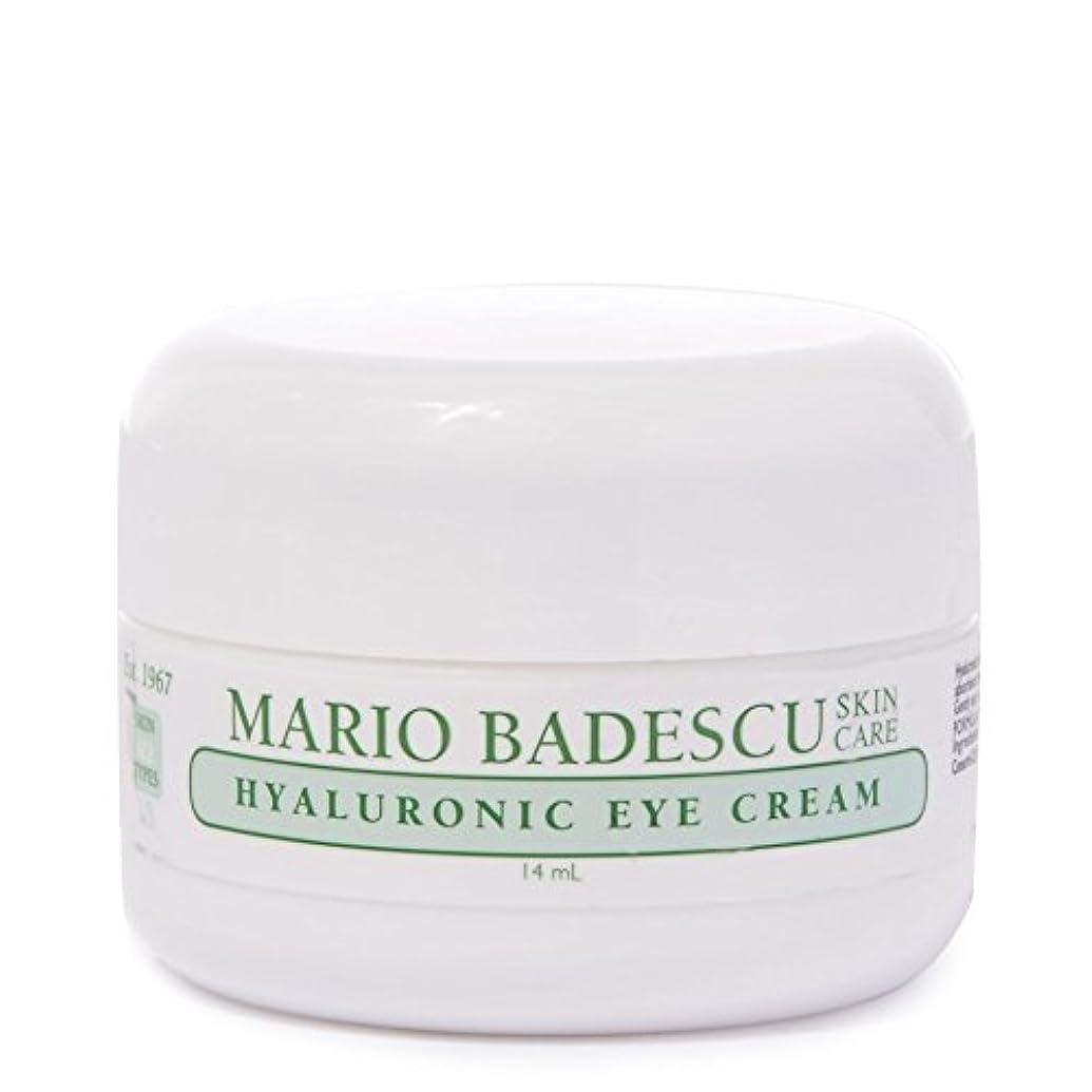 八邪悪なクラシックMario Badescu Hyaluronic Eye Cream 14ml - マリオ?バデスキューヒアルロンアイクリーム14ミリリットル [並行輸入品]
