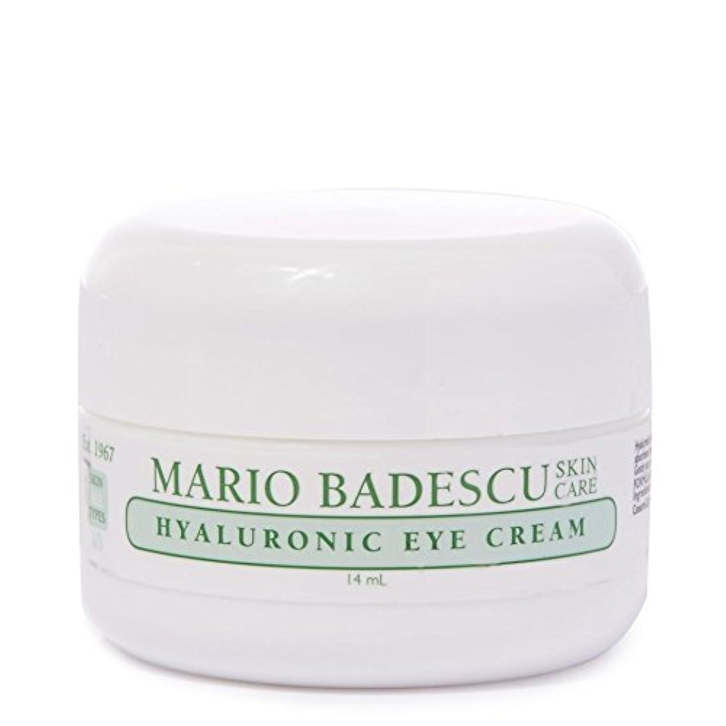瞳開拓者説明的マリオ?バデスキューヒアルロンアイクリーム14ミリリットル x2 - Mario Badescu Hyaluronic Eye Cream 14ml (Pack of 2) [並行輸入品]