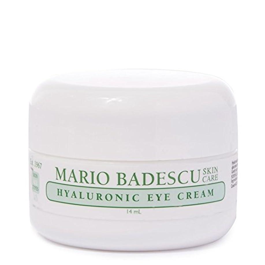 文字ホップイースターMario Badescu Hyaluronic Eye Cream 14ml (Pack of 6) - マリオ?バデスキューヒアルロンアイクリーム14ミリリットル x6 [並行輸入品]