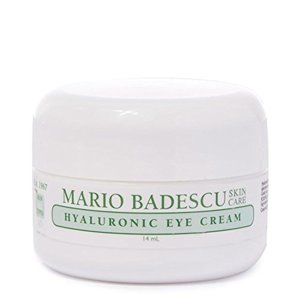促すレコーダー知人Mario Badescu Hyaluronic Eye Cream 14ml - マリオ?バデスキューヒアルロンアイクリーム14ミリリットル [並行輸入品]