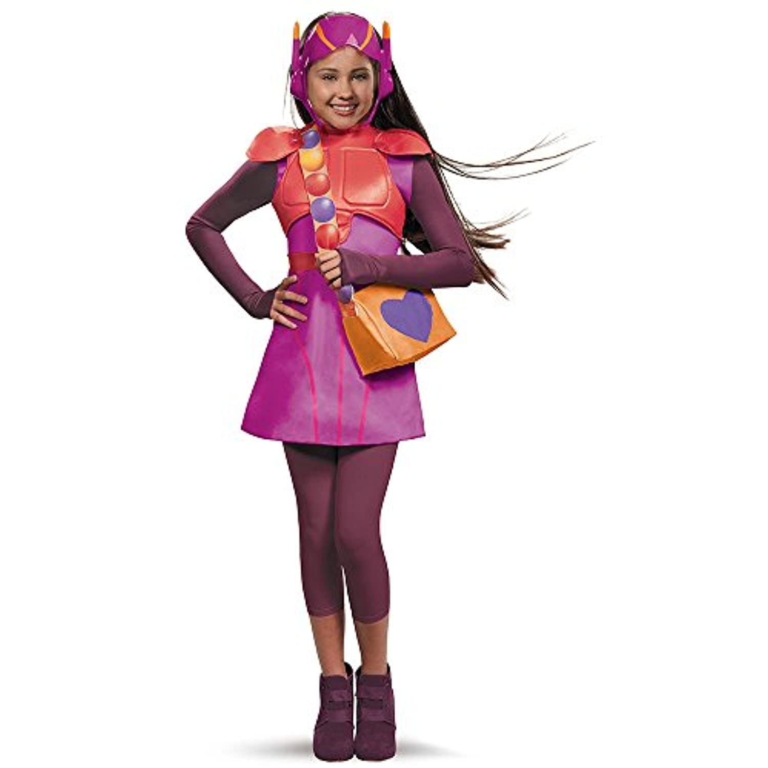 (Large (10-12)) - Big Hero 6 Honey Lemon Deluxe Costume
