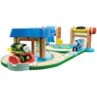 Thomas And Friends Wooden Railway - Early Engineers Busy Day on Sodor Set by Learning Curve [並行輸入品]