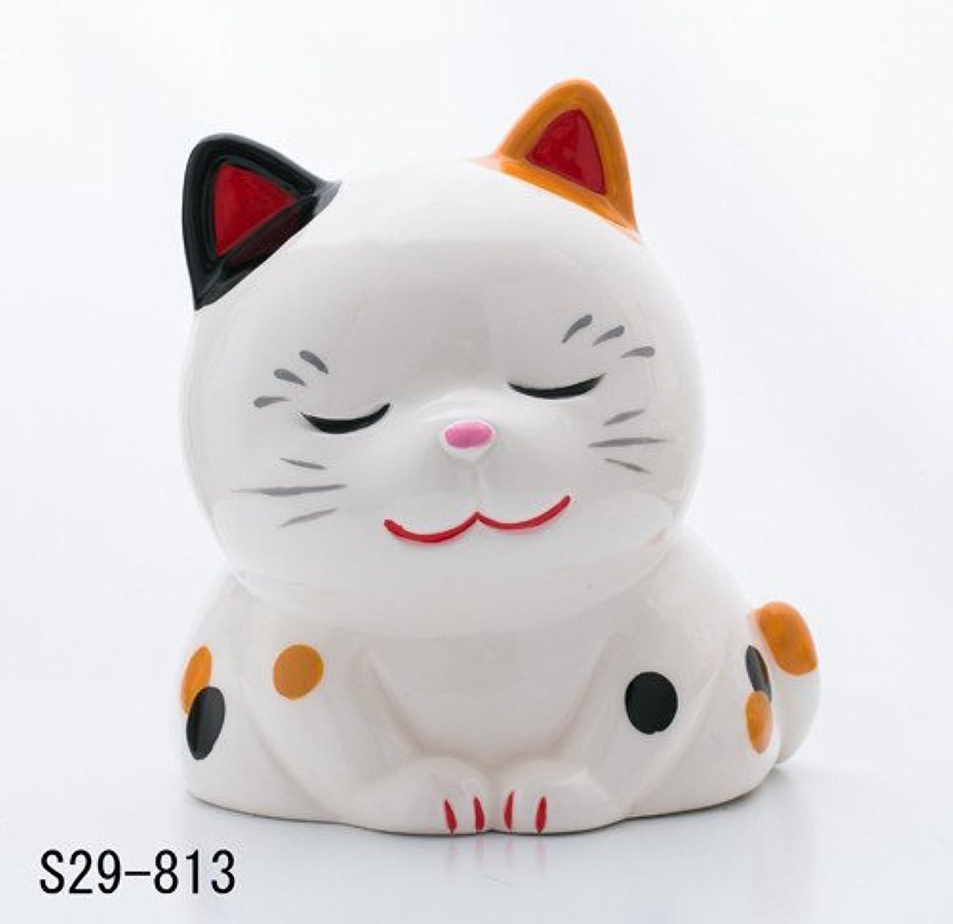太い国際順番蚊遣器 おいでやす猫(みけ) s29-813