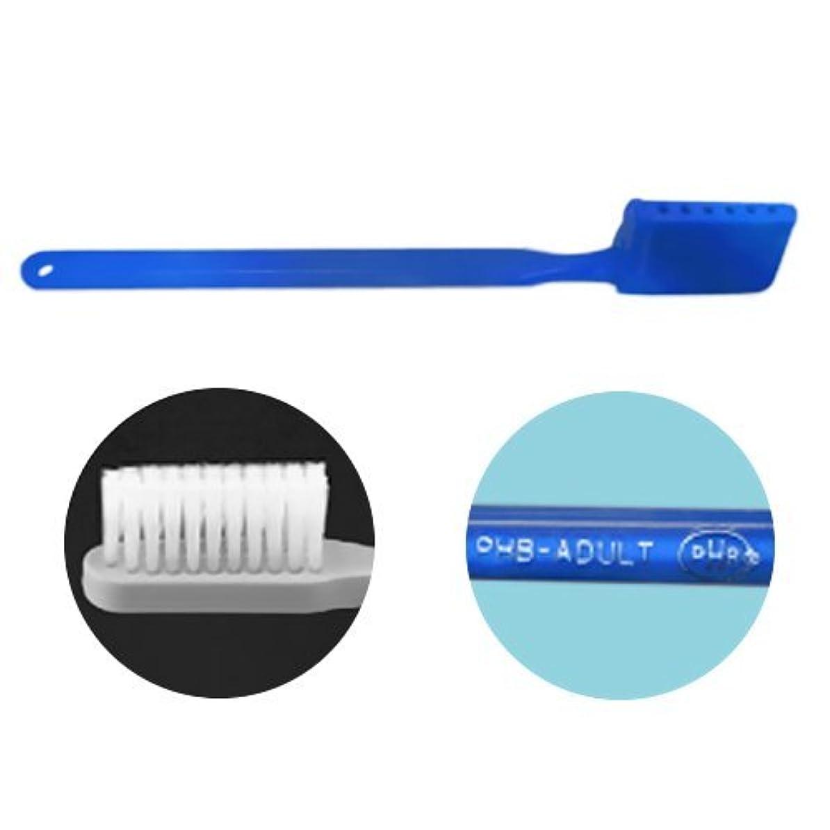 不純同種の乏しいPHB 歯ブラシ アダルトサイズ 1本 ネオンブルー