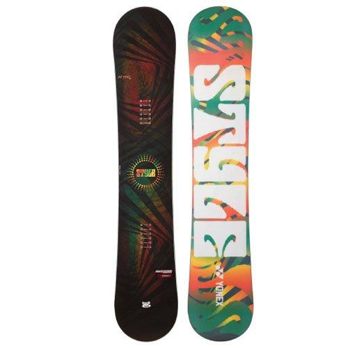 YONEX(ヨネックス) スノーボード 板 メンズ STYLE スタイル フリースタイル イージーライド キャンバー 板 スノボ ボード 149cm yonex-style-149