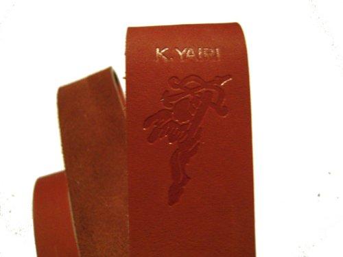 K.Yairi KYS-3800 BRN ループタイプ Kヤイリ レザーストラップ