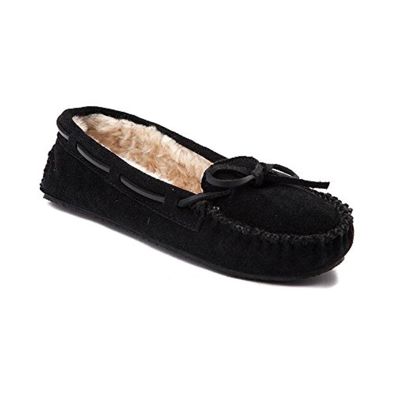 (ミネトンカ) Minnetonka 靴?シューズ レディースカジュアルシューズ Womens Minnetonka Cally Casual Shoe Black ブラック US 11 (28cm)