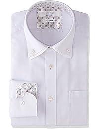 [タカキュー] SHIRTS CODE 形態安定 スリムフィット 2枚衿ドゥエボタンダウンシャツ メンズ 110214619848833