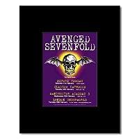 AVENGED SEVENFOLD - UK Tour 2004 Mini Poster - 13.5x10cm