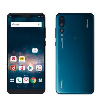 Huawei 【SIMロック解除済】docomo HUAWEI P20 Pro HW-01K Midnight Blue