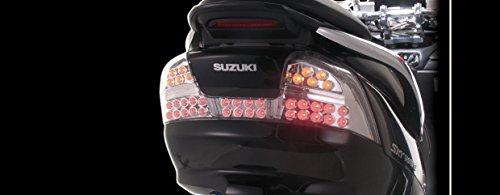 キタコ(KITACO) LEDテールランプキット スカイウェイブ250/スカイウェイブ250S/スカイウェイブ250SS メッキボディ 809-2785300