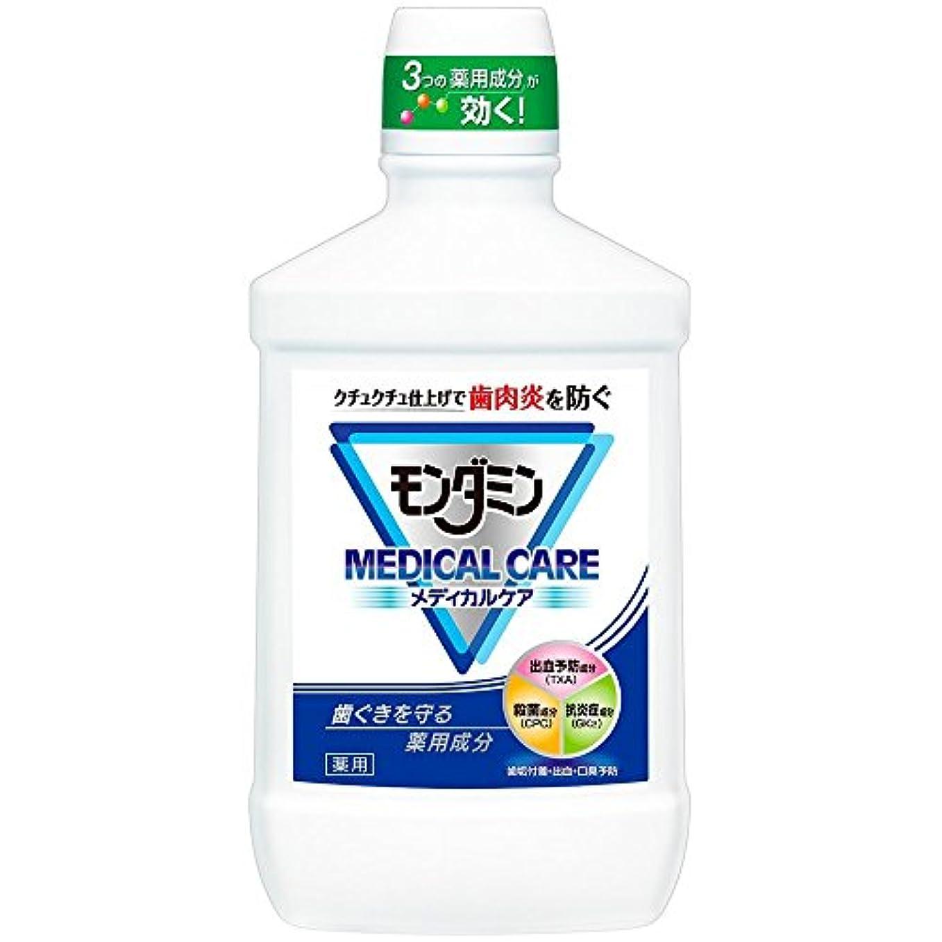 窒素マットパーツ【アース製薬】モンダミン メディカルケア 1000ml ×5個セット