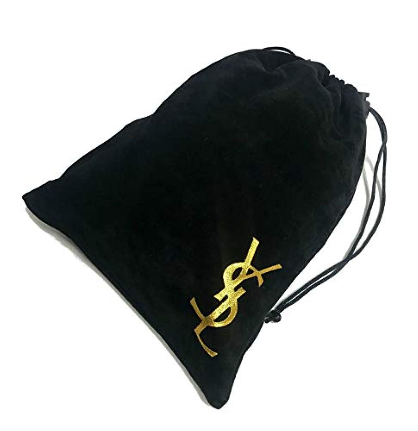 ずらすリーズ防止Yves Saint-Laurent コスメ 収納 ベロア 巾着袋 ポーチ
