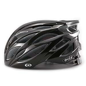 軽量ジャパンフィット自転車ヘルメット(4600)ブラックメタリック L~XLサイズ