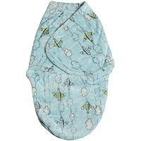 【新生児】【低出生体重児】【おくるみ】 フリースおくるみ:ブルーエアプレイン