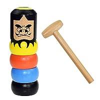shopparadise だるま マジック 手品 子供おもちゃ雑貨不滅のだるま ハロウィン マジックトリック 面白い おもちゃ ステージ マジック小道具 ストレス解消 減圧 木製
