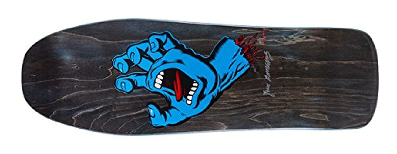 アイデア愛情遺体安置所サンタクルーズ (SANTA CRUZ) SCREAMING HAND LTD DECK 10 x31.3 スケートボード デッキ スケボー 30周年記念 限定