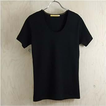 久米繊維謹製レディスTシャツ 黒 XL
