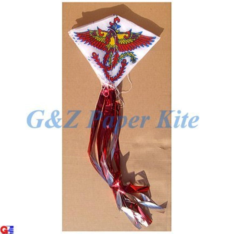 10 Mini Paper Kites on a String – Chinese Phoenix Train Kites