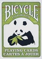 Bicycle Pandamonium (Panda) Playing Cards - Green Edition