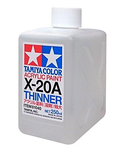 タミヤ カラー アクリル アクリル溶剤特大 (X-20A 250ml) 81040