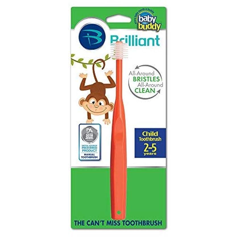 魔術顕著ハングBaby Buddy 360 Toothbrush Step 2, Red by Baby Buddy [並行輸入品]