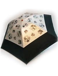 KitagawaSyouten[キタガワショウテン] 晴雨兼用傘 レディース 日傘 雨傘 折畳傘 婦人 UVケア ホワイト