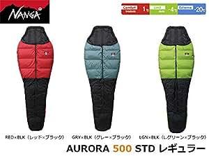 (ナンガ)NANGA オーロラ 500STD GRY/BLK レギュラー
