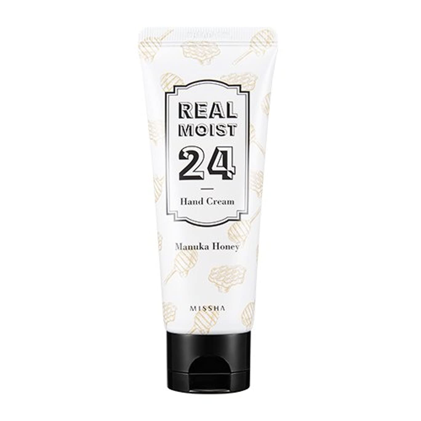 差別幾何学コメンテーター[New] MISSHA Real Moist 24 Hand Cream 70ml/ミシャ リアル モイスト 24 ハンドクリーム 70ml (#Manuka Honey)