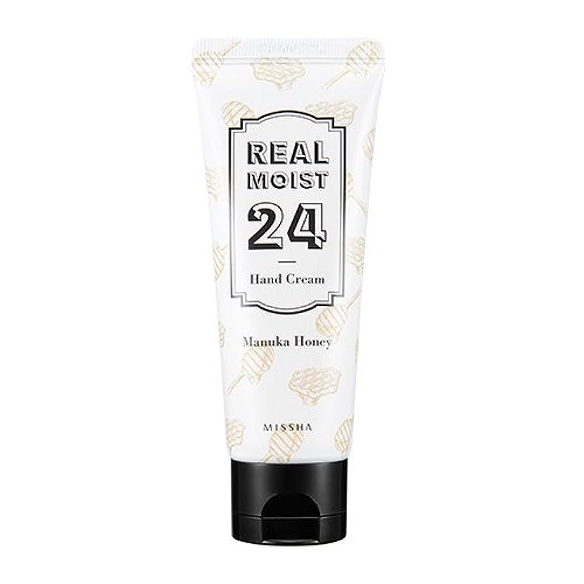 独占時計アヒル[New] MISSHA Real Moist 24 Hand Cream 70ml/ミシャ リアル モイスト 24 ハンドクリーム 70ml (#Manuka Honey)