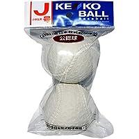 ナガセケンコー 軟式野球公認球 ケンコーボール公認球 J号 2個パック J-2P