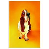 Arter 壁飾り犬 絵画 インテリアアートパネルキャンバス絵画 (犬 Y)