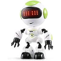 Aeeque ラジコンロボット 人型ロボットミニ RCロボット タッチ制御操作 インテリジェント 子供 おもちゃ 多機能 DIY 可愛い 誕生日プレゼント (グリーン)