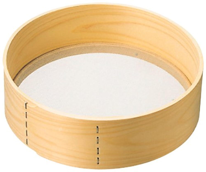 木枠 ステン張 粉フルイ 尺2(36cm)24メッシュ