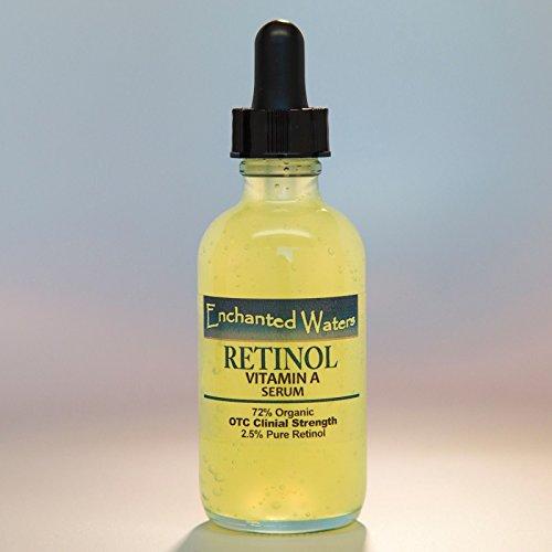 純粋レチノールビタミンA 2.5% 若返り しわ にきび お顔の 化粧水 クリーム 36ml
