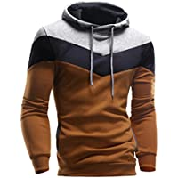 Misaky for Men Men's Mens' Novelty Color Block Hoodies Cozy Sport Outwear